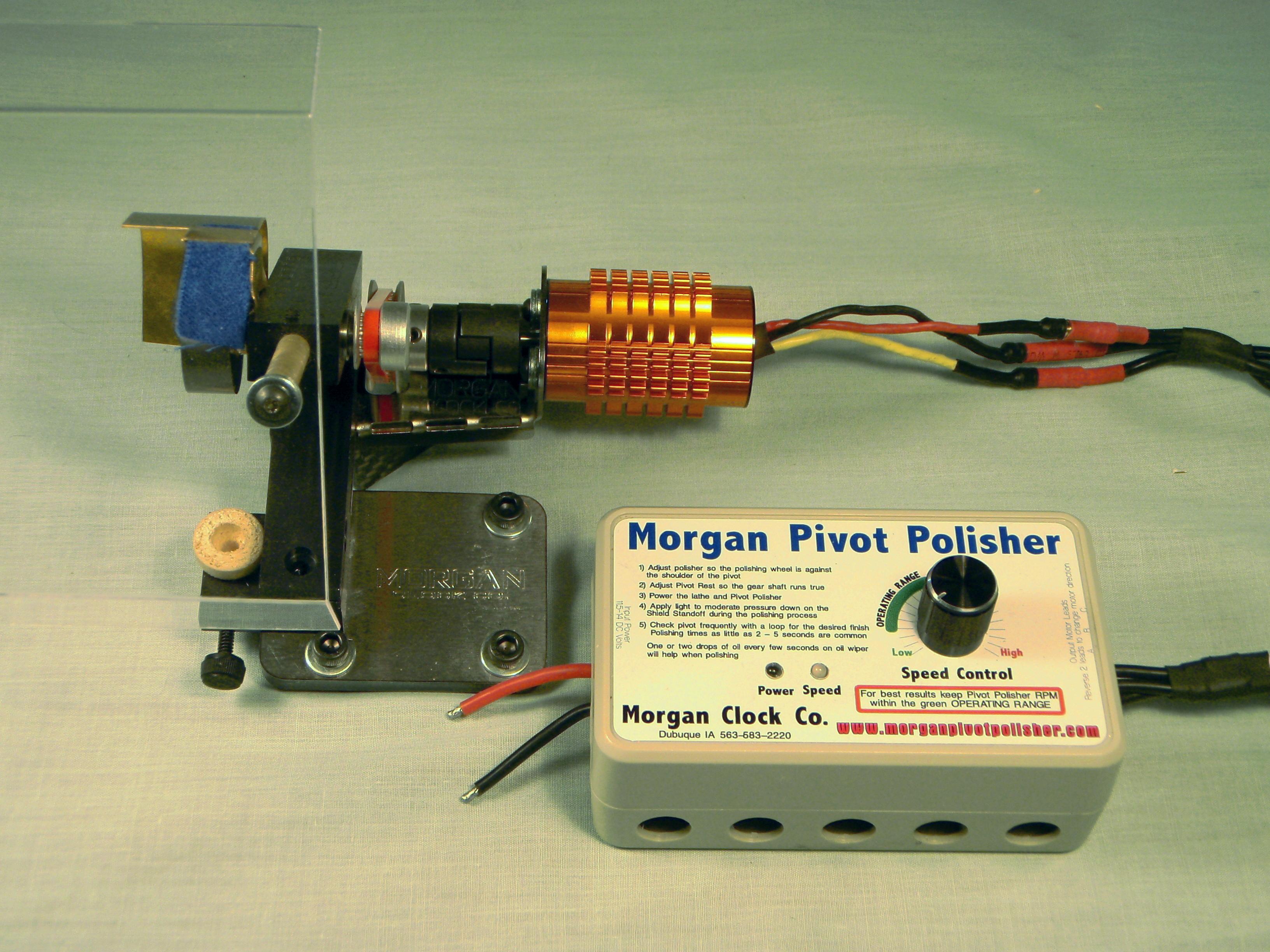 Morgan Pivot Polisher for watchmaker lathe or Sherline lathe